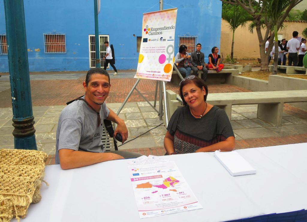 Ángel Armas y Yajaira Acevedo, coordinadores generales de Fundefir Venezuela.