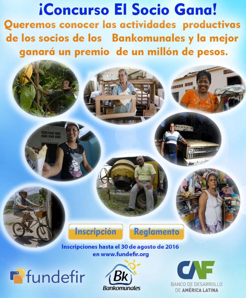 Banner del concurso El Socio Gana